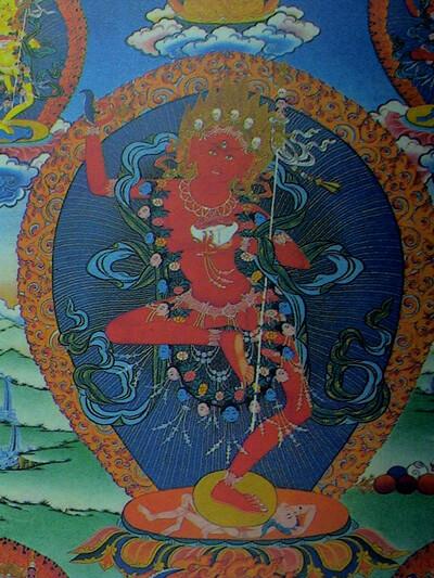Изображение Будды Ваджраварахи